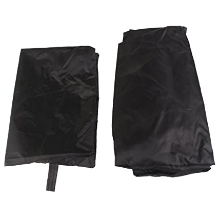 anndeeson al aire libre impermeable cubierta para barbacoa cubierta Barbacoa parrilla polvo pantalla – negro