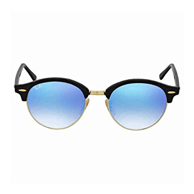 b1def43261a8c Ray-Ban ClubRound RB4246-901 7Q Sunglasses  Amazon.co.uk  Clothing