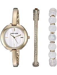 Women's Quartz Metal and Alloy Dress Watch, Color:Gold-Toned (Model: AK/2866RQST)