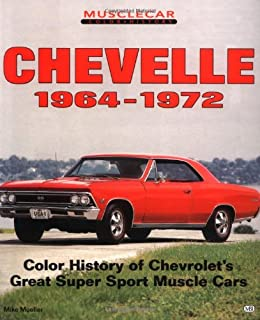Chevelle ss 1964 1972 a muscle car source book jeffrey steffes chevelle 1964 1972 muscle car color history fandeluxe Gallery