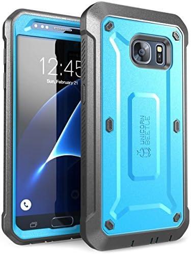Supcase Galaxy S7 Hülle Unicorn Beetle Pro Ganzkörper Case Blau Schwarz Elektronik