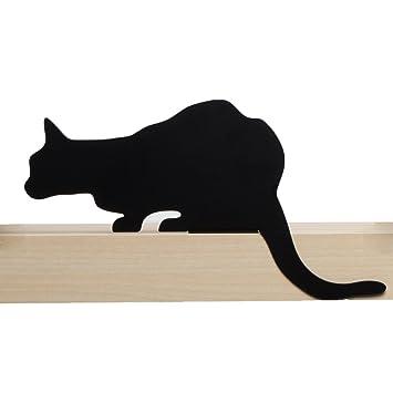Artori Design CatS Meow | Figura Churchill | Silueta de Gato Decorativa metálica | Estatuilla de