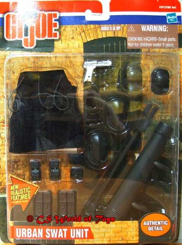 Gi Gear Joe Mission (Gi Joe Urban Swat Unit Mission Gear for 12 Inch Figures)