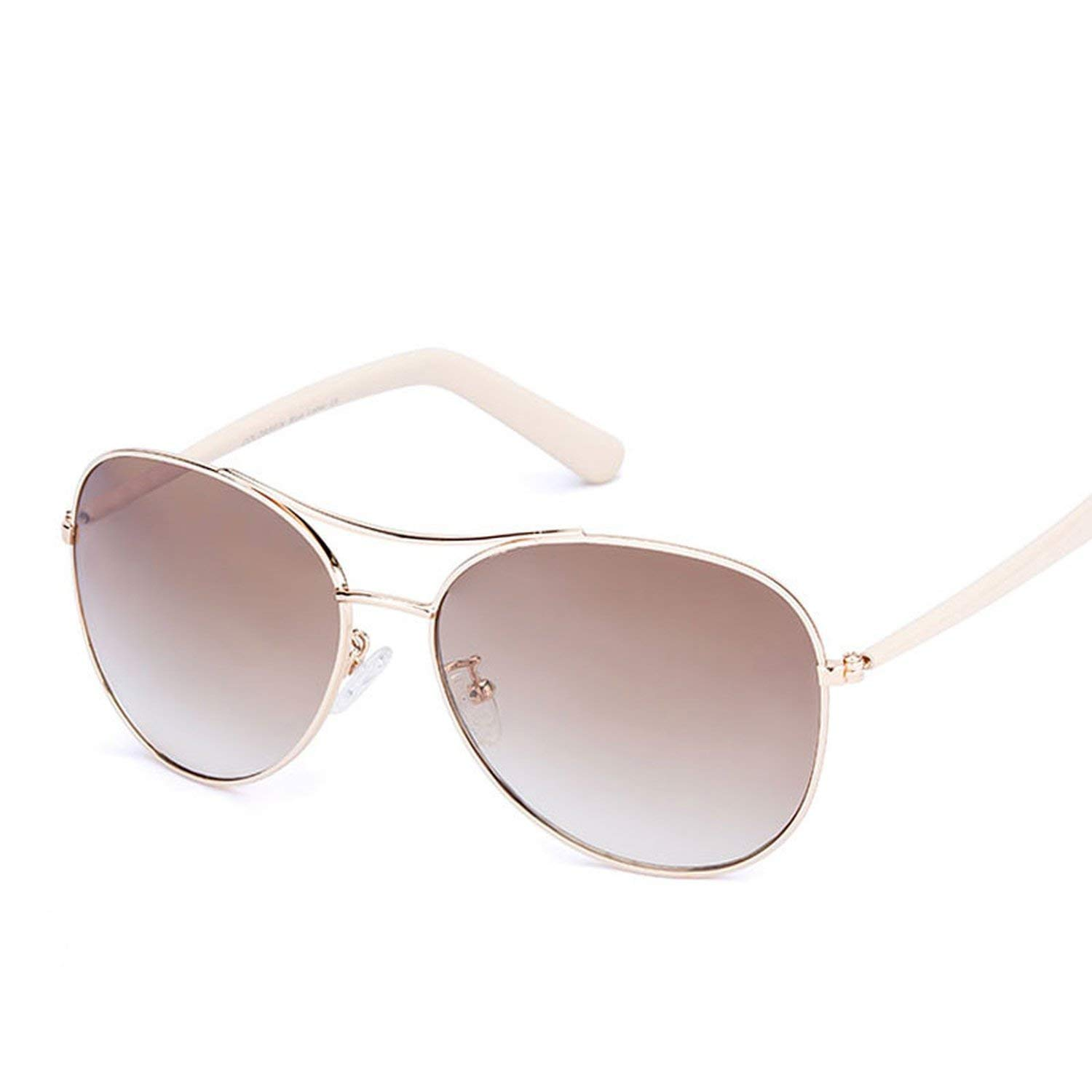 Amazon.com: Sunglasses Women Gold Frame Classic Female ...