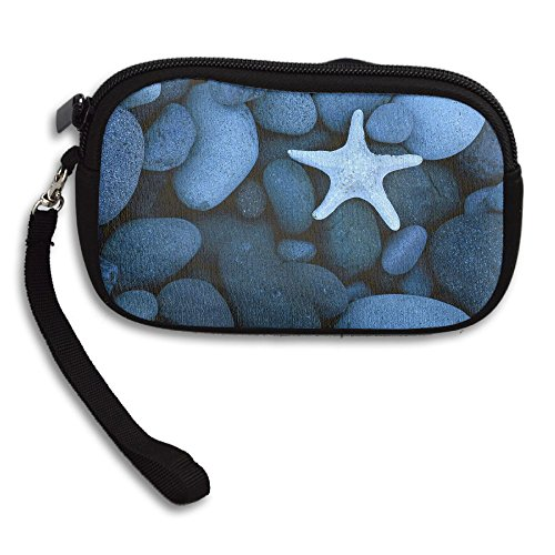 Portable Small Deluxe Receiving Cobblestone Sea Bag Purse Star Printing wqxAUOa