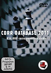 Corr. Database 2011 Correspondence Chess Games Software