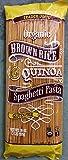 Trader Joe's Brown Rice & Quinoa Spaghetti Pasta 16 Oz (pack of 2)
