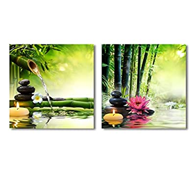 Spa Stones in Garden Wall Decor x 2...