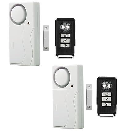 Amazon Wireless Anti Theft Monitor Remote Control Window Door