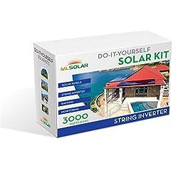 3Kw Complete DIY Solar Kit 260W Watt REC Solar Panels SMA SunnyBoy String Inverter Roof Tech Rail-Less Racking