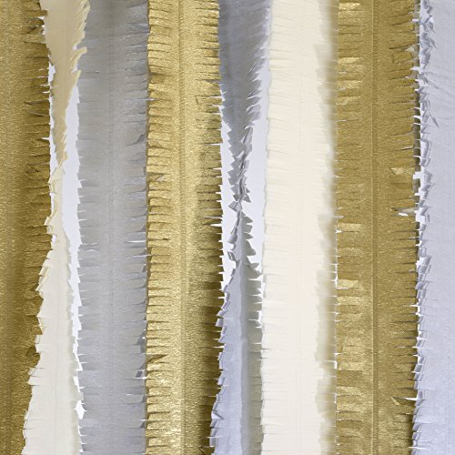 silver and gold streamers - 4