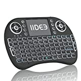Rii i8 (10038-ID) Mini 2.4GHz Wireless Touchpad Keyboard with Mouse, Black