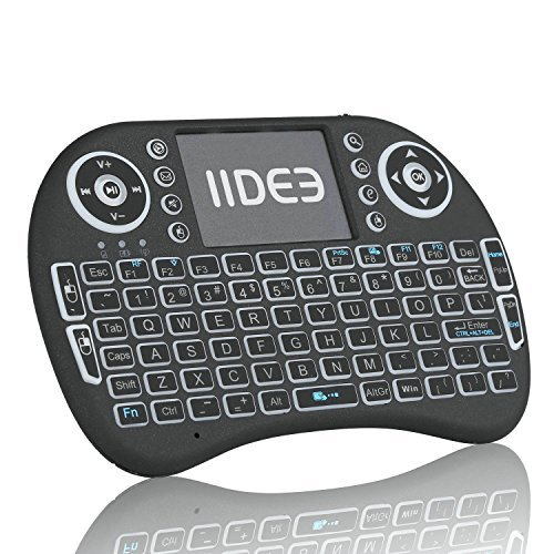 Rii i8 (10038-ID) Mini 2.4GHz Wireless Touchpad Keyboard with Mouse, Black by Rii (Image #8)