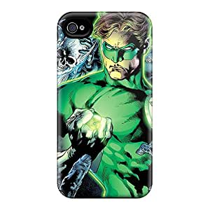 Anti-Scratch Hard Phone Case For Iphone 6plus With Customized Trendy Green Lantern Image AlissaDubois