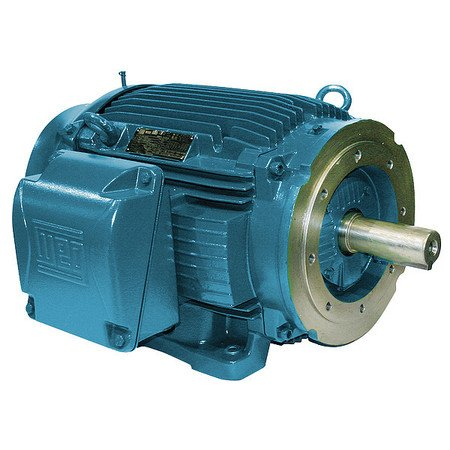 WEG 00236ET3E145TC-W22 W22 NEMA Premium Efficiency Ball Bearing Severe Duty and General Purpose Electric Motor, 2 HP, 3-Phase, 3475 rpm, 208-230/460 V, 60 Hz, Frame (Three Phase Motor Efficiency)