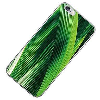 Fundas y estuches para teléfonos móviles, Caso para el iphone de la manzana 7 7 más el verde de la cubierta del caso el patrón hd pintó la caja más suave del teléfono de la caja ( Modelos Compatibles  IPhone 7 Plus