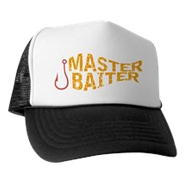 c98bd8c07960c Amazon.com  CafePress - Master Baiter Trucker Hat - Trucker Hat ...