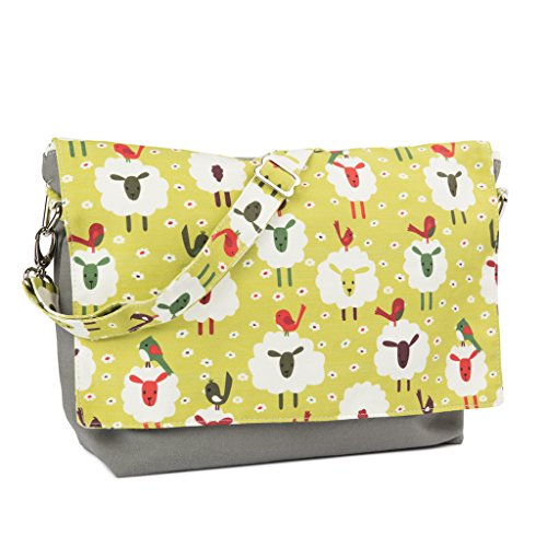 Yarn Pop Clutchable Knitting Bag - Sheep & Bird by Yarn Pop