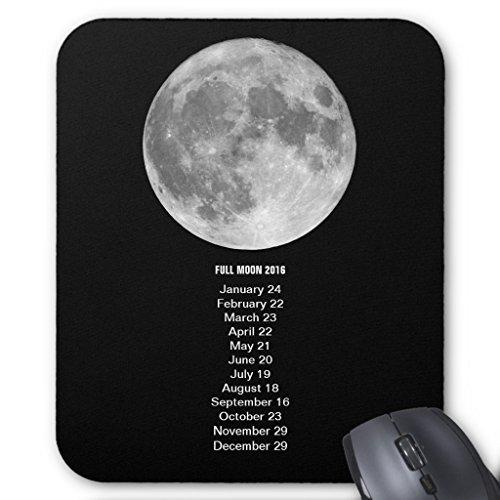 Zazzle Full Moon Calendar 2016 Mouse Pad