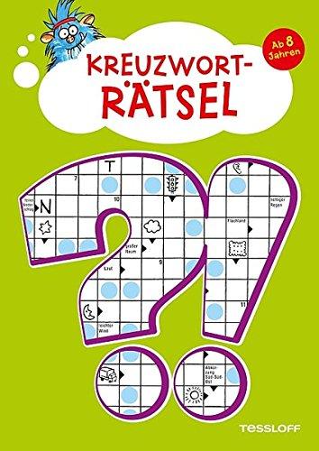 Kreuzworträtsel ab 8 Jahren: Mit Lösungsteil!