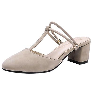 RAZAMAZA Damen Clogs Pantoletten Schuhe