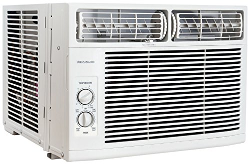 (Frigidaire FFRA1011R1 10,000 BTU 115V Window-Mounted Mini-Compact Air Conditioner with Mechanical Controls)