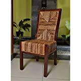 International Caravan Bali Dallas Woven Abaca Dining Side Chair – Set of 2 Review
