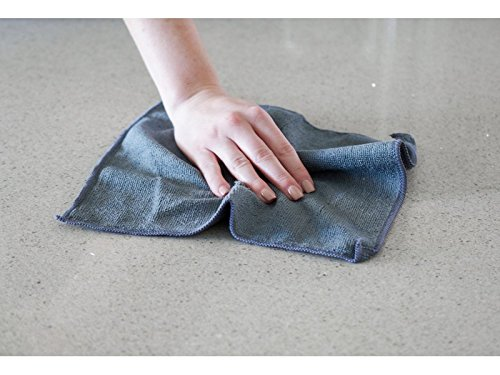 Sophisti-Clean Stainless Steel Microfiber Cloths 10pk, Soft Absorbent Non-Abrasive Cleaning Cloths, Lint Free - Streak Free, Easily Clean Without Chemicals, Gray - 4