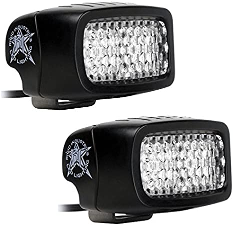 100W Halogen -Chrome Passenger Side with Install kit 2000 Mack Vision HIGH Rise ROOF Side Roof Mount Spotlight Larson Electronics 1015P9IPZTS 6 inch