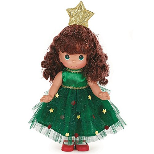 [Precious Moments Tree-Mendously Precious Brunette Doll] (Precious Moments Angel Doll)