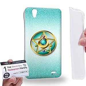 Case88 [Huawei Ascend G630] Gel TPU Carcasa/Funda & Tarjeta de garantía - Sailor (Series Moon) Nepturn Compact Case Art1427