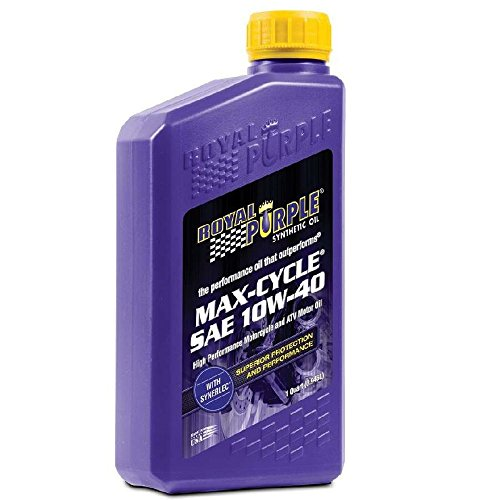 Royal Purple 06315-6PK Max-Cycle 10W-40 High Performance...