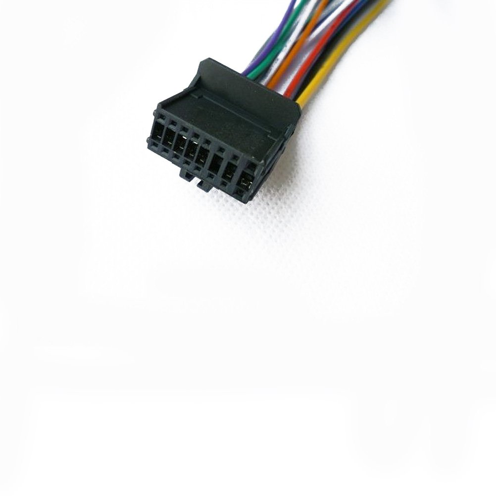 Pioneer Kabelbaum für Auto Stereo CD-Player Stecker 16 Pin: Amazon ...