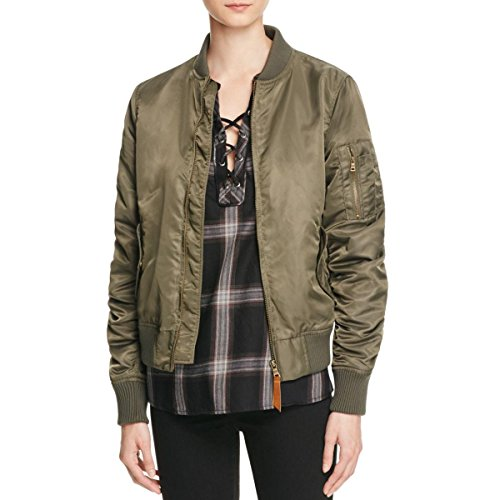 Sanctuary Women's Amelia Bomber Jacket In Military Green (Small) by Sanctuary Clothing