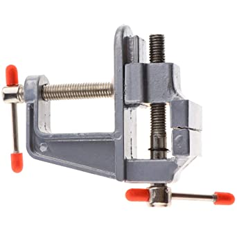 Portátil Mini Mesa Banco Tornillo Tornillo Giratorio Clamp Craft ...