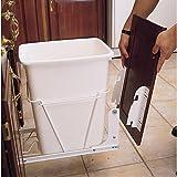 Rev-A-Shelf RV DM KIT RV Series Door Mounting Kit for RV Trash Cans, White