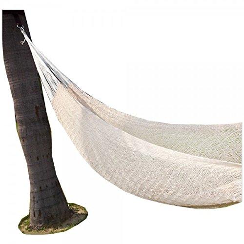 Ectoria Handmade Mayan Hammock Double Hanging Bed Swing Portable Mexican Sleeping Travel