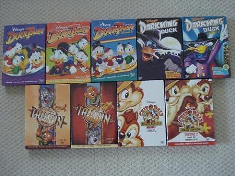 Ducktales Volumes 1 2 3 Darkwing Duck Volume 1 2 Tailspin Volume 1&2 Chip&Dale Rescue Rangers Volume (Ducktales Volume 2 Dvd)