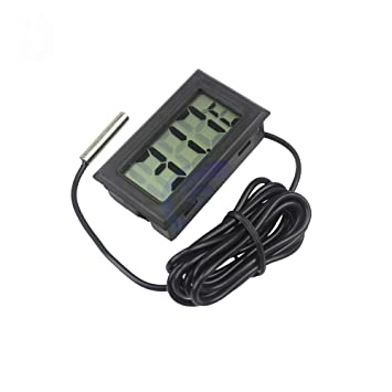 Mini sonda LCD digital para frigorífico, congelador, termómetro ...