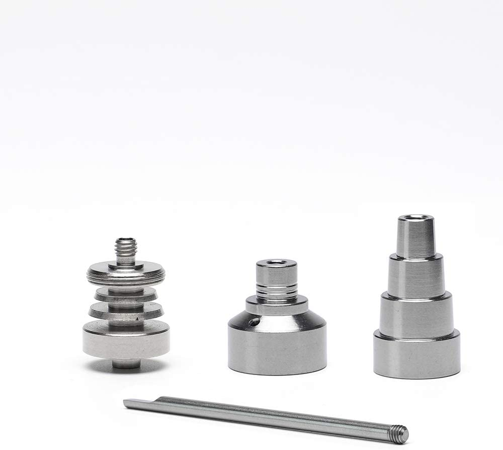3-in-1 Titanium Cap Wax Tool,Wax Carving Tool,for Male and Female 10mm//14mm//18mm