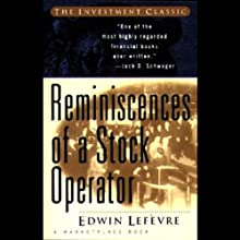 Reminiscences of a Stock Operator Audiobook by Edwin Lefevre Narrated by Rick Rohan