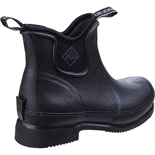 The Muck Boot Company Wear Paddock Boots Black, Ideal for riding and yard work UK 12 / EU 47