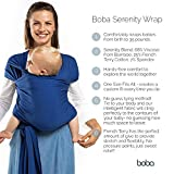 Boba Wrap Baby Carrier, Serenity Bloom - Original