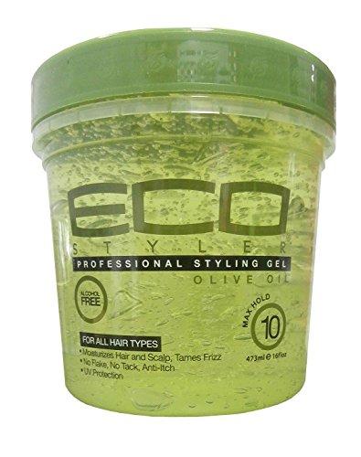 Eco Styler Gel coiffant à base d'huile d'olive – 473ml