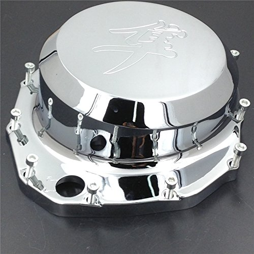 XKH Group Motorcycle Engine Clutch Cover for Suzuki Hayabusa Gsxr1300 1999 2013 B-King Chrome Right Side new