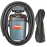 DAYTON Wet/Dry Vacuum Air Flow 52 cfm 3-1/2 HP