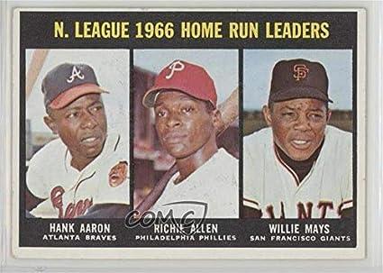 Amazoncom Hank Aaron Dick Allen Willie Mays Baseball