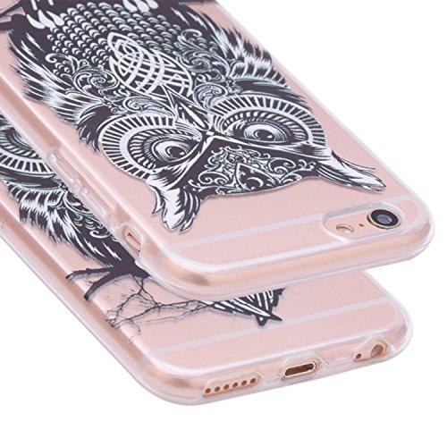 iPhone 7 2016 Funda Silicona, Asnlove Carcasa Gel TPU Silicona Bumper Crystal Clear Case Cover Trasparente Protectora Bumper Back Shell Cover Cubierta Tapa Trasera Caja para iPhone 7 Color20