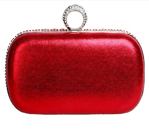 Clubs Pearl Prom Beaded Bridal Glitter Red Gift Handbag Wedding Bag Diamante Women Clutch Bag For Shoulder Purse Evening Ladies Party qxfa04