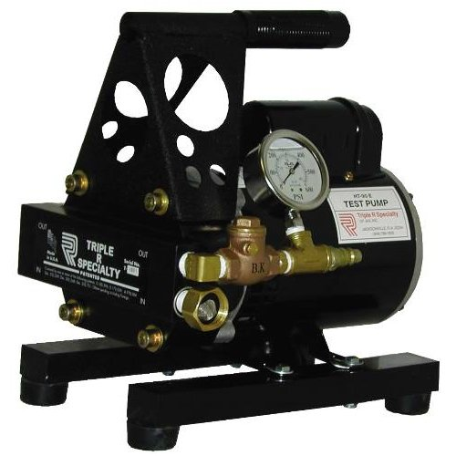 - Triple R Specialty HT-89A Hydrostatic Test Pump with Bypass Relief, 3 GPM at 300 psi